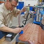 Tony Turner of AIN Plastics Demonstrates Paste Application