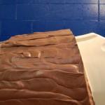 Fully Cured Paste Applied on Foam