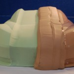 Sample of RAKU-TOOL® Close Contour Paste Application Stages