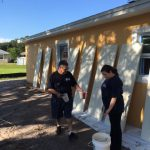 Everything in a Habitat for Humanity Home gets a fresh coat of paint